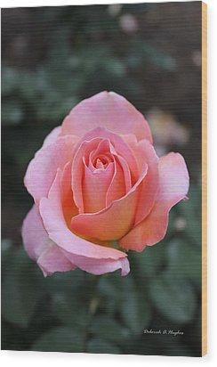 Rose Garden Wood Print