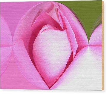Rose1 Wood Print