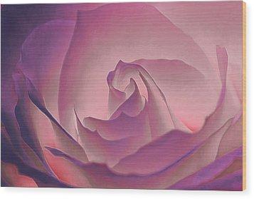 Rosy Daydreamer Wood Print