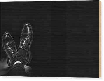 Wood Print featuring the photograph Rough Day by Tom Gort