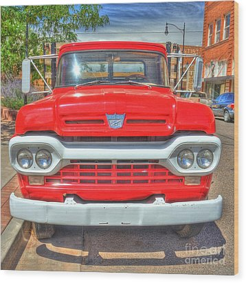 Route 66 Flatbed Ford Wood Print by John Kelly