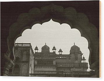 Royal Architecture Wood Print by Tia Anderson-Esguerra