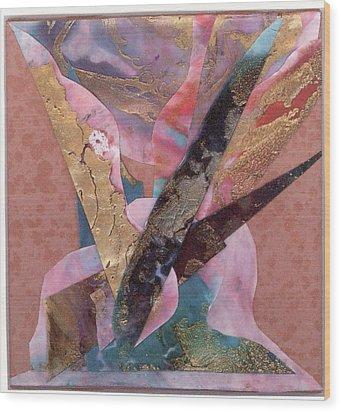 Royal Birds Wood Print by Seaon Ducote