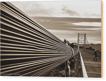 Royal Gorge Bridge Wood Print