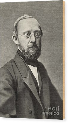 Rudolph Virchow, German Polymath Wood Print by Photo Researchers