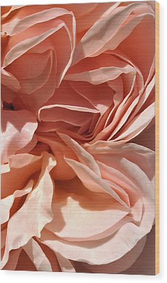 Ruffles And Ridges Wood Print by Sandy Fisher