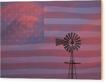 Rural America Wood Print by James BO  Insogna