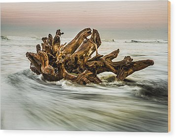 Wood Print featuring the photograph Rush by Randy Wood