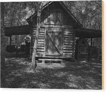 Rustic Barn Wood Print by Warren Thompson