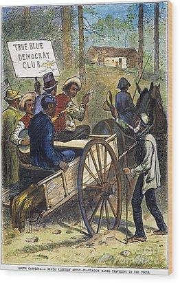 S. Carolina: Elections, 1876 Wood Print by Granger
