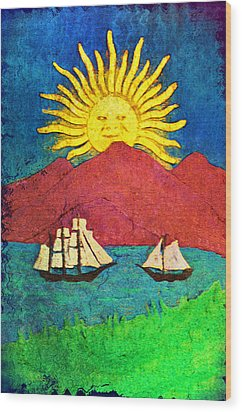 Safe Harbor Wood Print by Bill Cannon