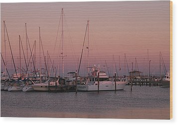Wood Print featuring the photograph Safe Harbor by Brian Wright