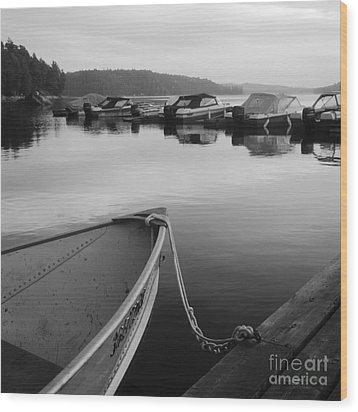 Safe Haven Wood Print by Gordon Wood