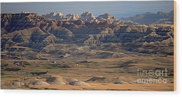 Sage Creek Wilderness Wood Print by Chris Brewington Photography LLC