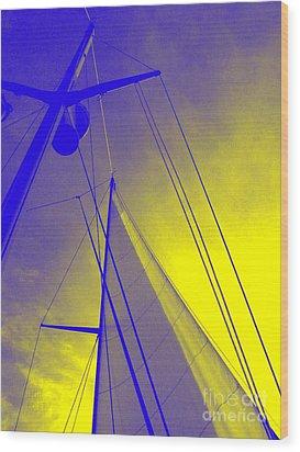 Sail Into Yellow Wood Print