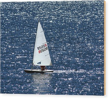 Wood Print featuring the photograph Sailing by Patrick Witz