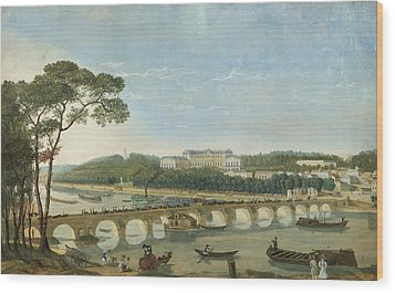 Saint-cloud During The Visit Of King Francois I, France, 1830 Wood Print by Photos.com
