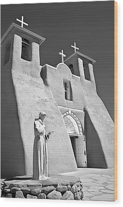 Saint Francisco De Asis Mission Wood Print by Melany Sarafis