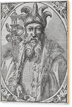 Saladin, Sultan Of Egypt And Syria Wood Print by Middle Temple Library