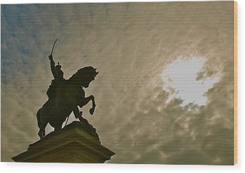 Wood Print featuring the photograph Salute To The Sun by Eric Tressler