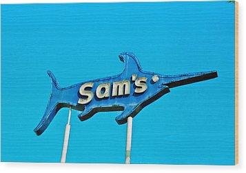 Sam's Wood Print by Matthew Bamberg