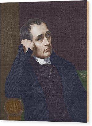 Samuel Crompton, British Inventor Wood Print by Sheila Terry