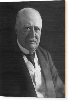 Samuel P. Colt, Chairman Of The Board Wood Print by Everett
