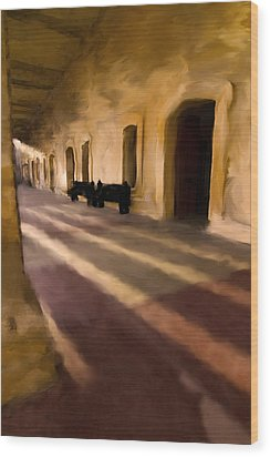 San Cristobal Shadows Wood Print by Sven Brogren