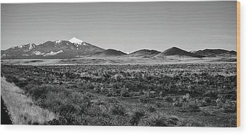 San Francisco Peaks Wood Print by Gilbert Artiaga