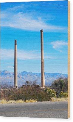 San Manuel 1 Wood Print by T C Brown