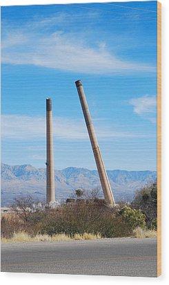San Manuel 10 Wood Print by T C Brown