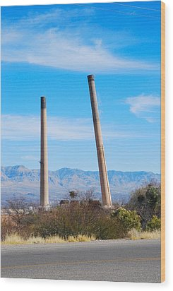 San Manuel 5 Wood Print by T C Brown