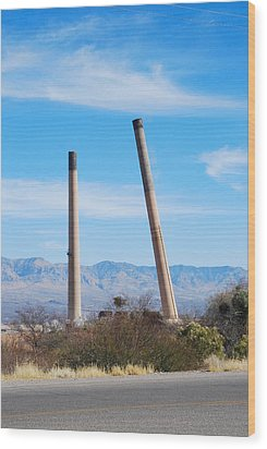 San Manuel 8 Wood Print by T C Brown