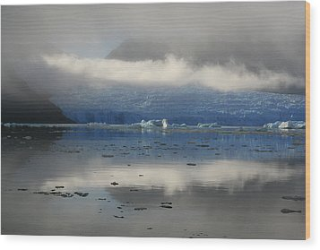 Wood Print featuring the photograph San Rafael Glacier by Laurel Talabere