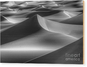 Sands Of Time Wood Print by Bob Christopher