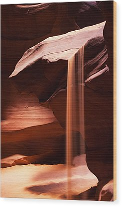 Sands Of Time Wood Print by James Marvin Phelps