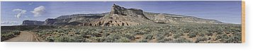 Wood Print featuring the photograph Sandstone Cliffs Escalante National Monument by Gregory Scott