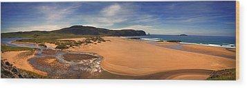 Sandwood Bay Wood Print