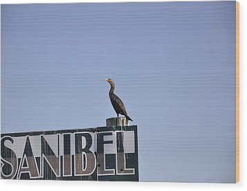 Sanibel Wood Print