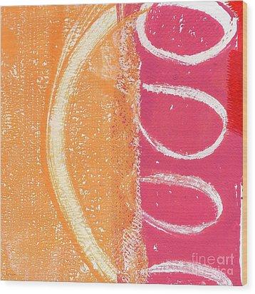 Sante Fe Sunrise Wood Print by Linda Woods