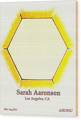 Sarah Aaronson Wood Print