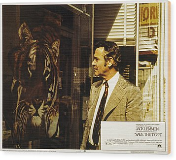 Save The Tiger, Jack Lemmon, 1973 Wood Print by Everett