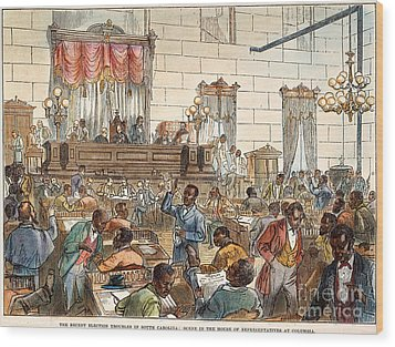 Sc: Legislature, 1876 Wood Print by Granger