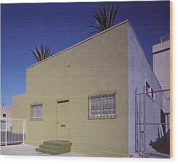 Scenes Of Los Angeles, A Nondescript Wood Print by Everett