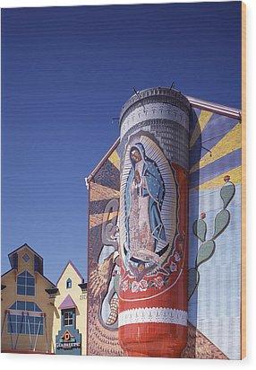 Scenes Of Texas, The Virgin Wood Print by Everett