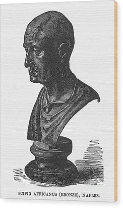 Scipio Africanus Wood Print by Granger