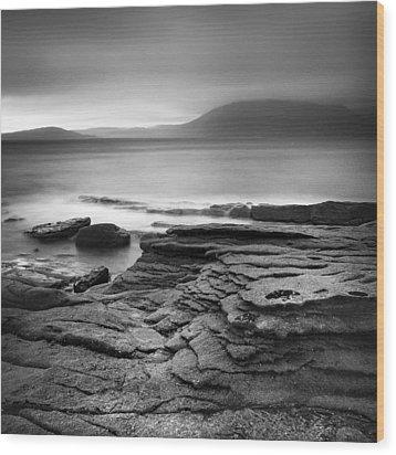 Scotland Elgol II Wood Print by Nina Papiorek