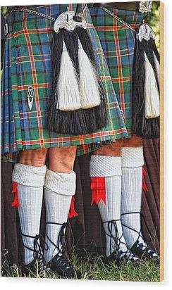 Scottish Festival 4 Wood Print by Dawn Eshelman