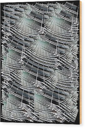 Scraper Wood Print by Tim Allen