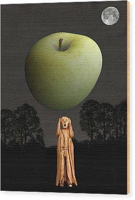 Scream New York Wood Print by Eric Kempson